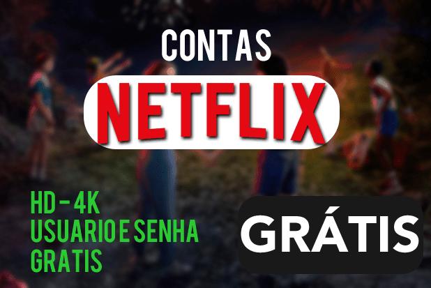contas netflix gratis 2020