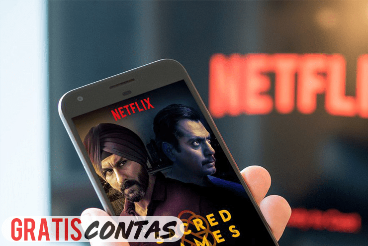 contas netflix gratis 2019