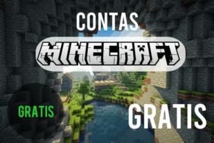 contas minecraft premium gratis