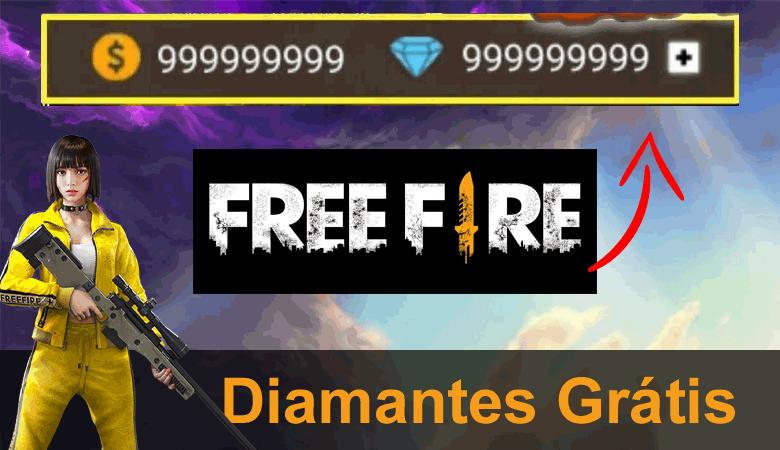 diamantes grátis free fire gerador